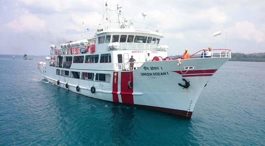 Andaman Lagoons - Private Ferry Services for Port Blair, Havelock Island in Andaman Islands - Green Ocean (a High Speed Luxury Private Catamaran Passenger Ferry)