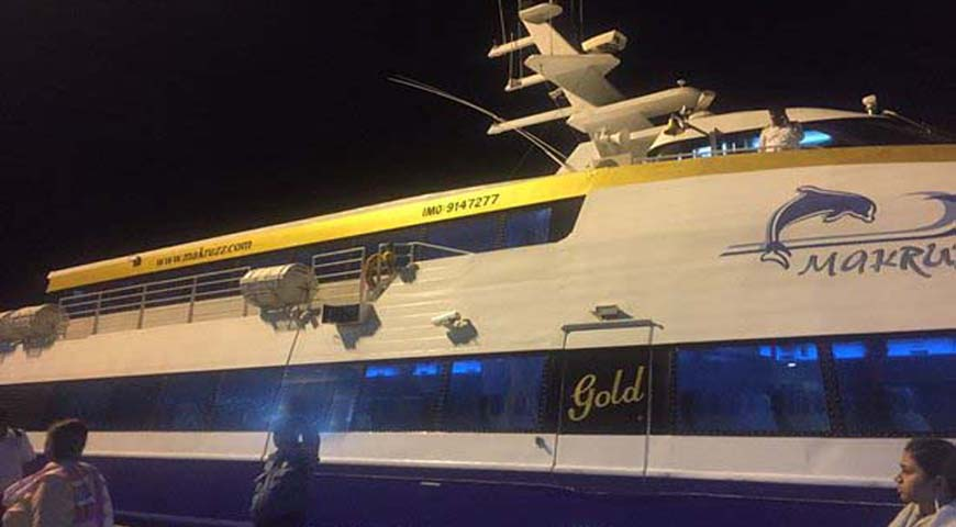 Andaman Lagoons - Private Ferry Services for Port Blair, Havelock Island in Andaman Islands - Makruzz Gold (a High Speed Luxury Private Catamaran Passenger Ferry)