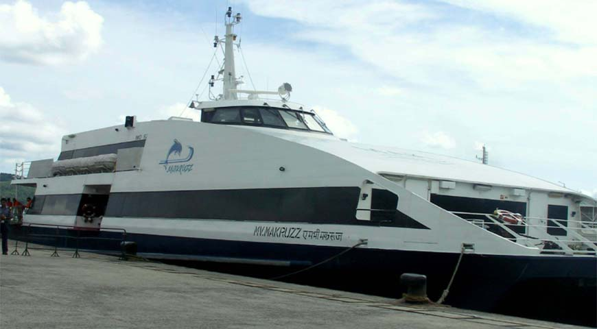 Andaman Lagoons - Private Ferry Services for Port Blair, Havelock Island, Neil Island in Andaman Islands - Makruzz (a High Speed Luxury Private Catamaran Passenger Ferry)