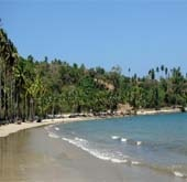 Andaman Lagoons - Popuplar Destination, Place to Visit or Sightseeing - Corbyn's Cove Beach at Port Blair in Andaman Islands