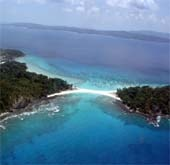 Andaman Lagoons - Popuplar Destination, Place to Visit or Sightseeing - Ross and Smith Islands or Twin Islands at Diglipur (North and Middle Andaman) in Andaman Islands