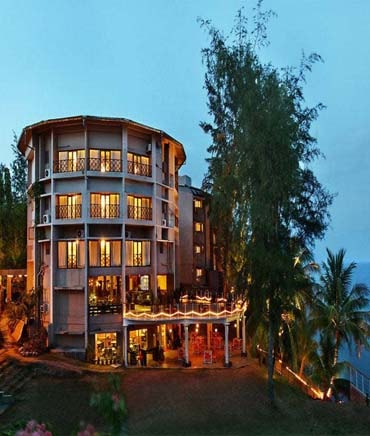 Andaman Lagoons - Popular Hotels and Resorts - Sinclairs Bayview Hotel at Port Blair in Andaman Islands